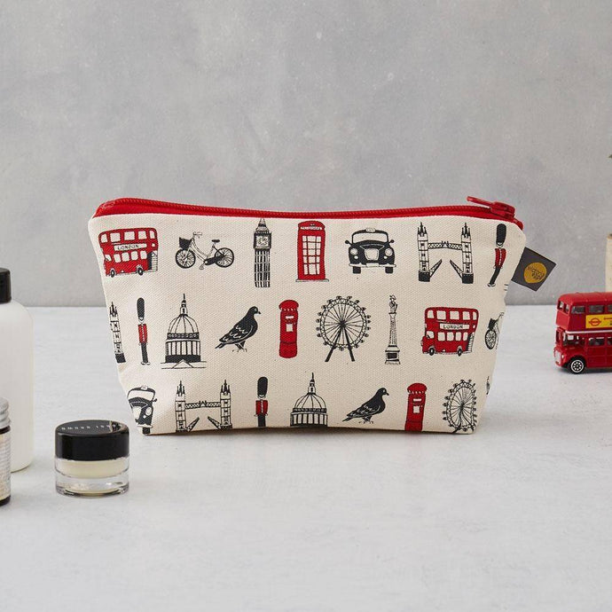 London Icons Cosmetic Bag/Pencil Case - Bezar
