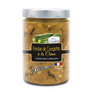Zucchini stew in cream sauce - P. Guintrand - 327 ml - 290 g