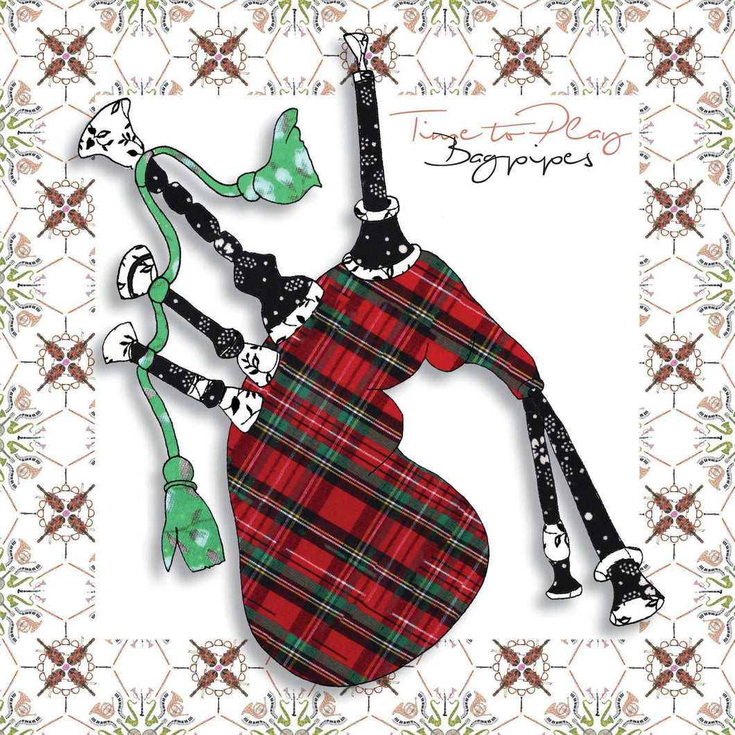 Bagpipes | Greeting Card - Bezar
