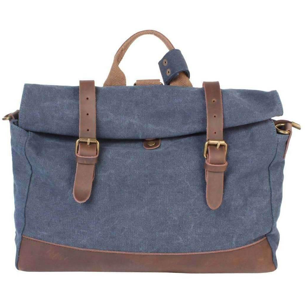 SAINT MICHEL: Shoulder bag - Blue jeans