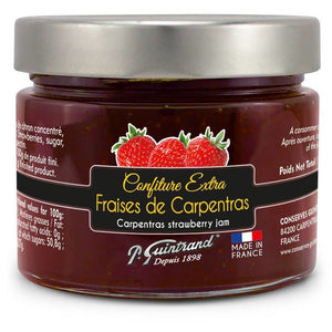 "Carpentras strawberry jam ""extra"" PG 314 ml (jar)"