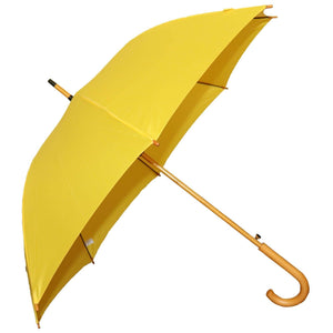 Large Umbrella Windproof In Sunshine Yellow
