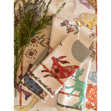 Load image into Gallery viewer, Flick of Hares | Napkins x2 - Bezar