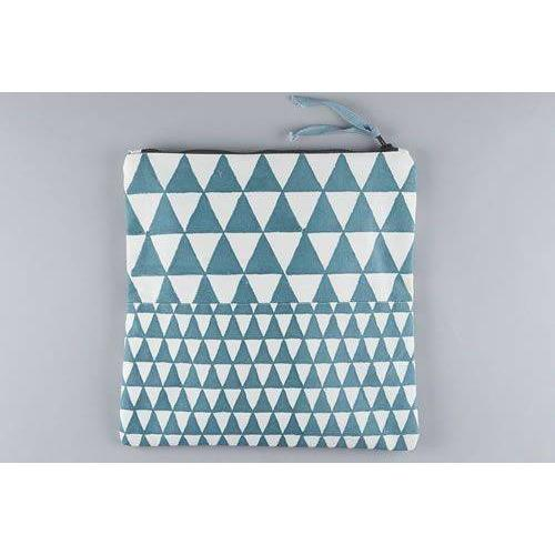 ALIBAG giant triangle design large canvas wash bag - Bezar