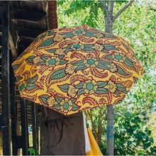Load image into Gallery viewer, Windproof Umbrella in Orange Henna - Folding