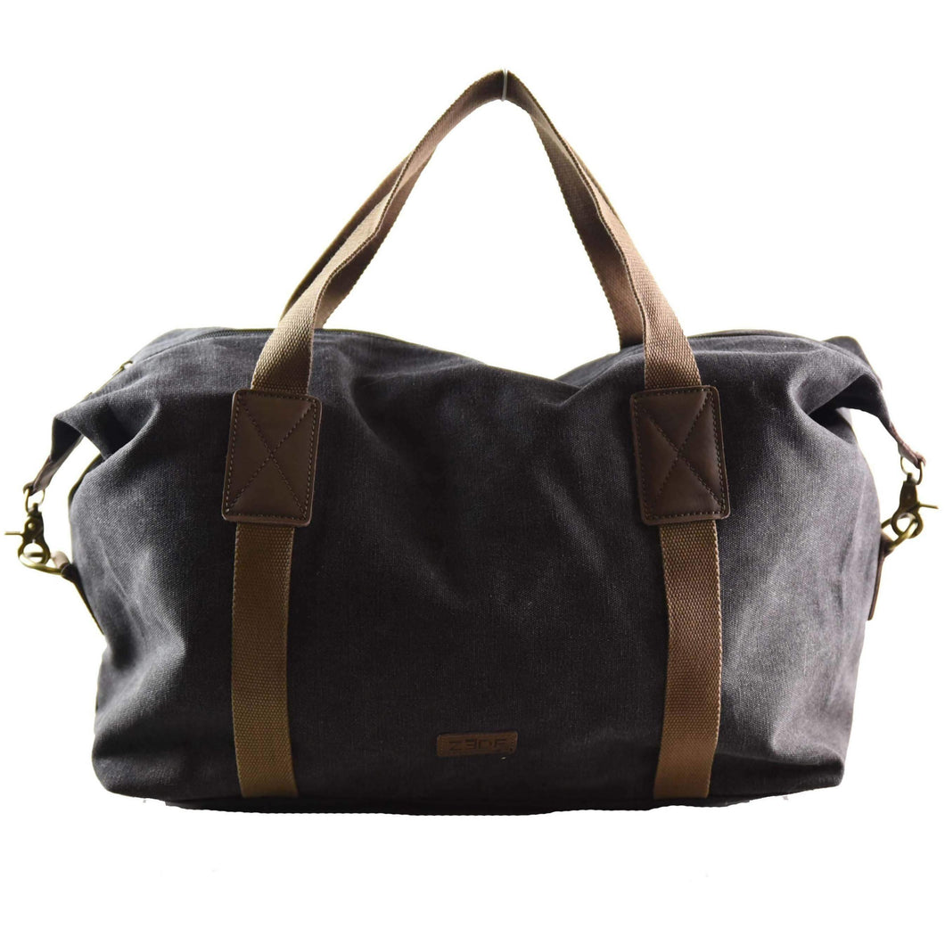 GREEN WAY: Sport bag - Black