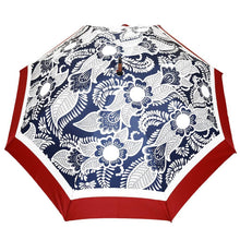 Load image into Gallery viewer, Large Umbrella Windproof in Adire Blue Print