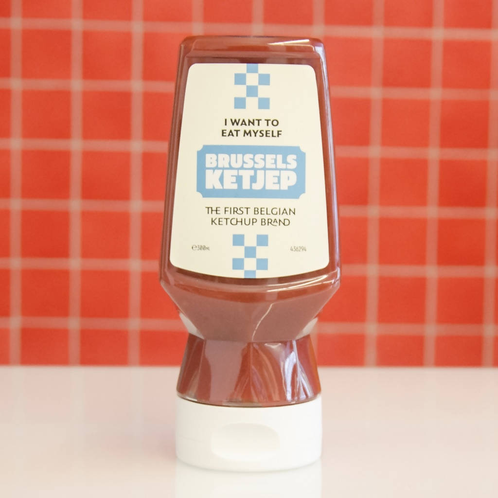 Brussels Ketjep Sauce (12 bottles of 300 ml)