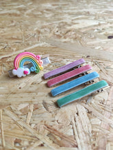 Load image into Gallery viewer, RAINBOW OMBRE: Hair Clip