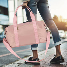 Load image into Gallery viewer, Pink Candy Weekender Bag