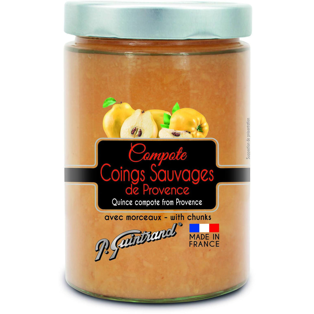 Quince compote from Provence with chunks - P. Guintrand - 580 ml - 550 g
