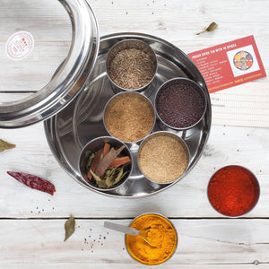 Indian Spice Tin With 9 Spices | Gift of the Year Winner - Bezar