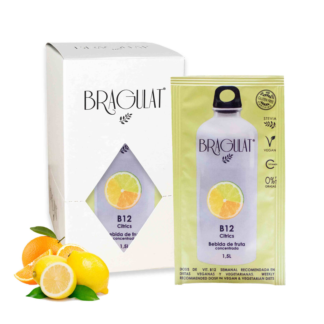 Instant drink B12 CITRICS Bragulat | 15 units