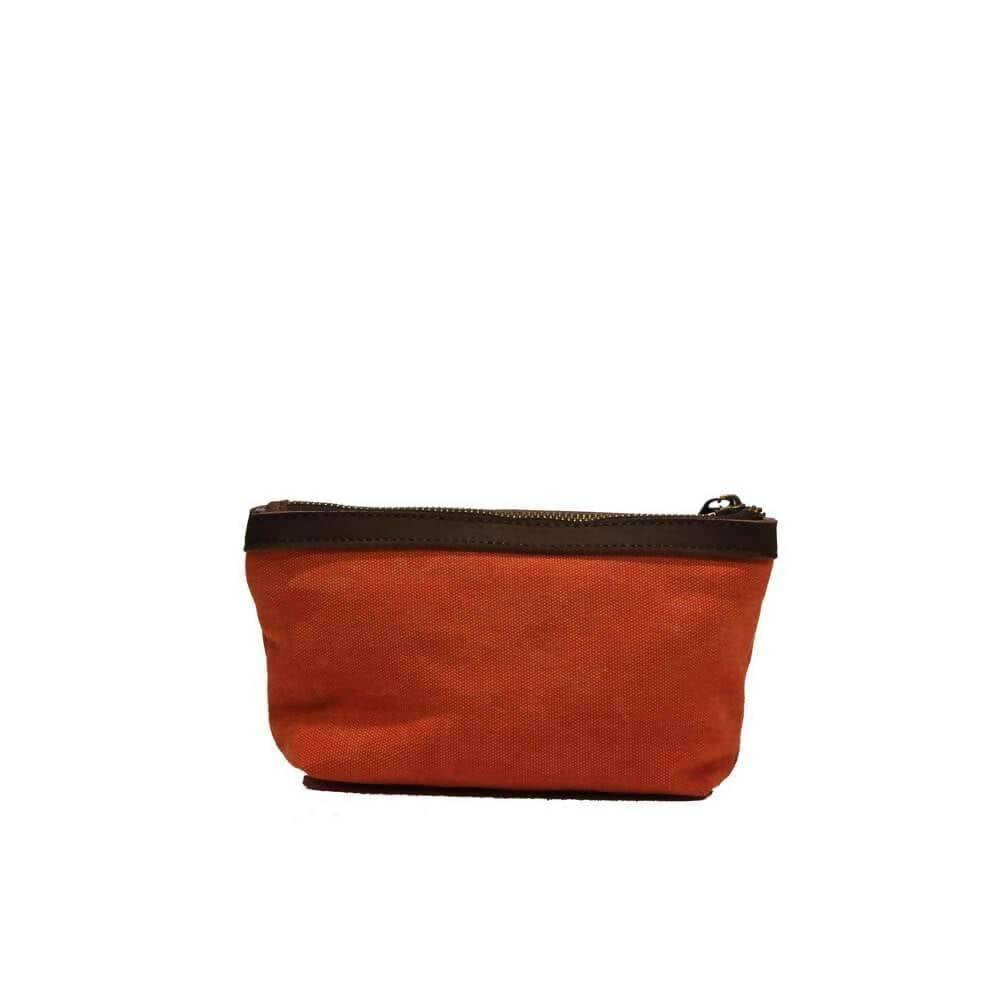 TROCADERO (SMALL): Pencil case - Coral