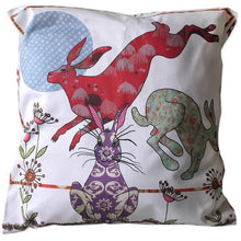 Load image into Gallery viewer, Flick of Hares | Cushion - Bezar