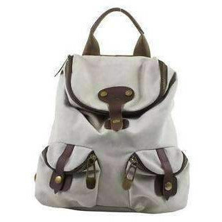 ST PAUL (SMALL): Backpack - Beige