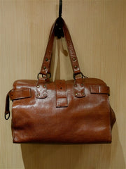 Candela Leather London Shoulder Handbag