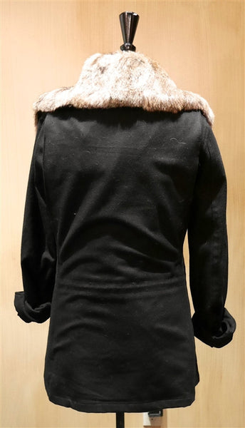 Nicholas K. Neil Jacket with Detachable Fur Collar and Vest