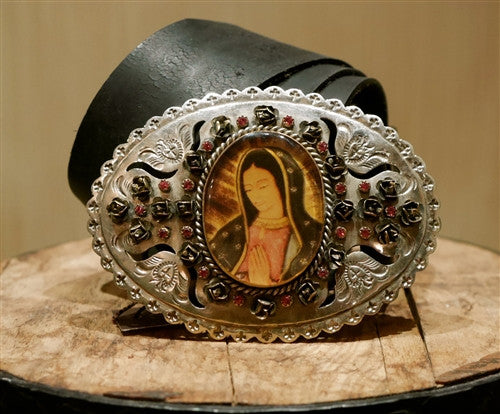 Virgin Saints and Angels Goddess Grande Buckle