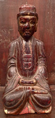 Antique Chinese Temple Figure