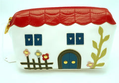 Braccialini House-Shaped Cosmetics Bag