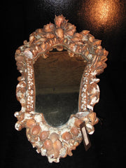 19th Century Shell Mirror- One of a Kind