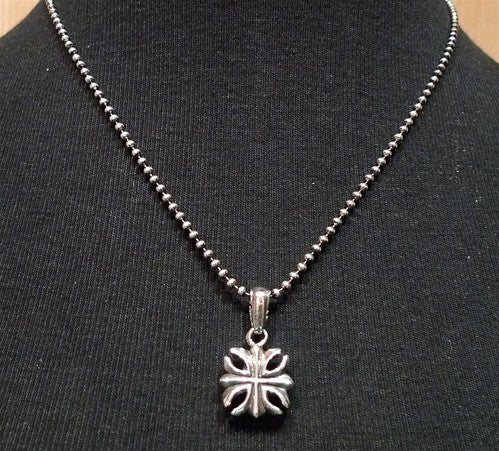 King Baby Sterling Silver Necklace