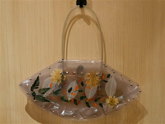 Nini Clear Flower Handbag