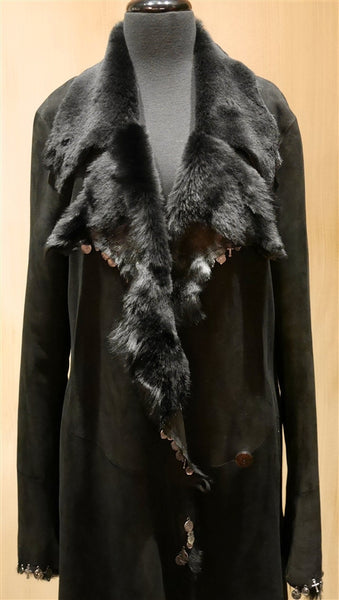 Nigel Preston & Knight Shearling Icon Coat