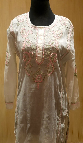 Graham Kandiah Scoop Neck Long Kurta