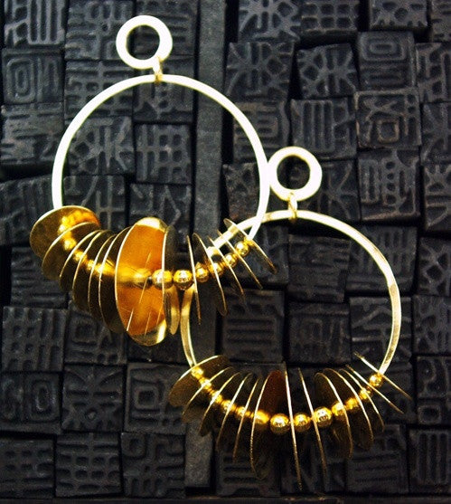 Sibilia Tribal Earrings