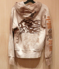 Great China Wall Rhinestone Hoodie Sweatshirt