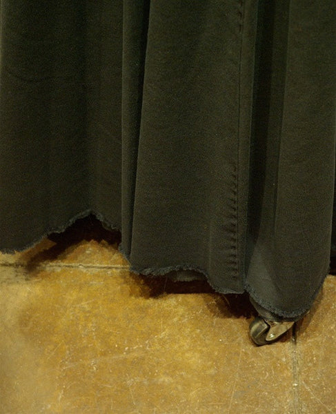 Jarbo Long Raw Edge Skirt