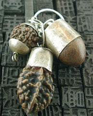 Melissa Joy Manning Petrified Nut Charms