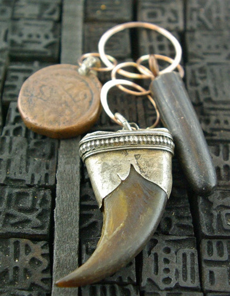 Melissa Joy Manning One-of-a-Kind Ancient Charm Pendant