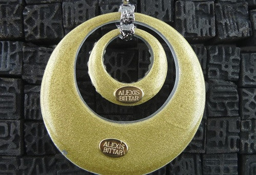 Alexis Bittar Hoop Necklace