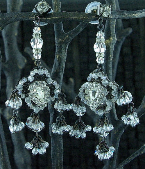 Erickson Beamon Thin Ice Earrings