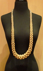 Appartement a Louer Perfecto Champagne Pearl Long Strand Necklace