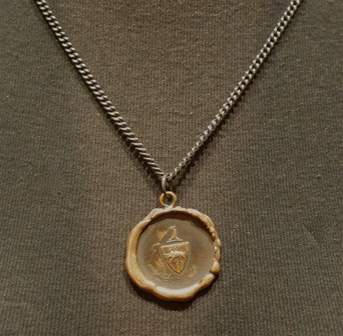 Pyrrha Griffon Crest Chain Necklace