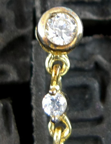 Jardin Cubic Zirconia Earrings