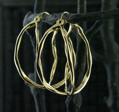 Danielle Pittman 14 K Yellow Gold Atlas Earrings