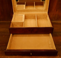 William Sheppe Leather Jewelry Box