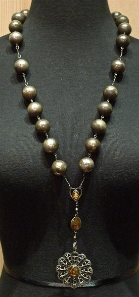 Kimme Winter Large Bead Necklace