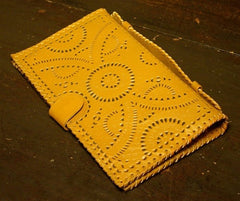Cleobella Bohemian Tooled Leather  Wallet/Clutch