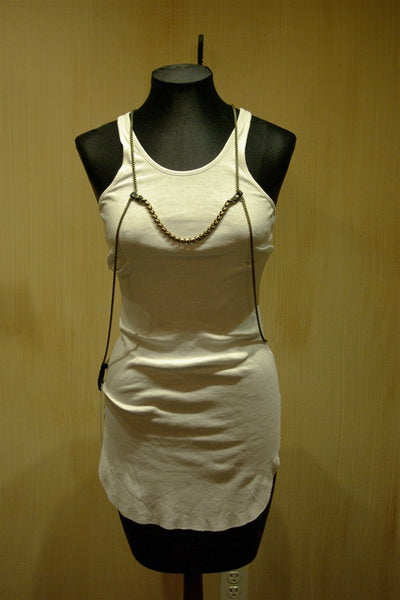 Bliss Lau Hug-me-tight Chain Metal Vest