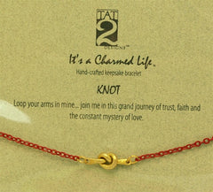 "Tat2 ""It's a Charmed Life"" Bracelet ""Love Knot"""