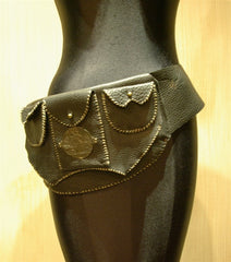 Mr. Winter Pebbled Leather Hip Pack