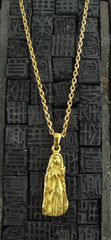 "Robert Goossens Gold-Plate 18"" Virgo Zodiac Necklace"