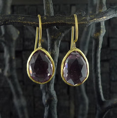 Coralia Leets Amethyst Earrings