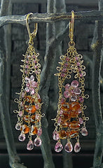 Cameron Cohen Wire Work Earrings